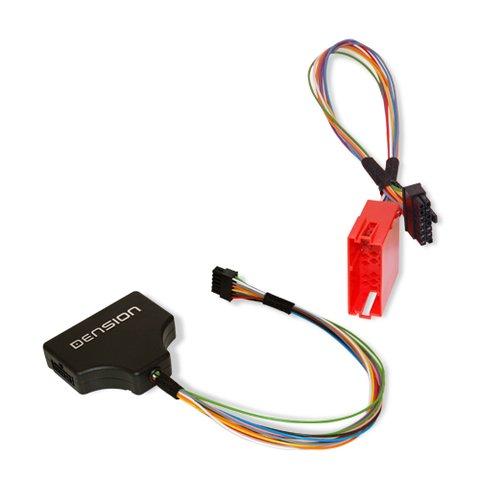 Dension Разветвитель для подключения CD ченджера и шлюза Gateway 100 300 в Volkswagen  8 контактов