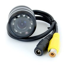 Універсальна автомобільна камера заднього виду GT S618 з інфрачервоним підсвічуванням - Короткий опис