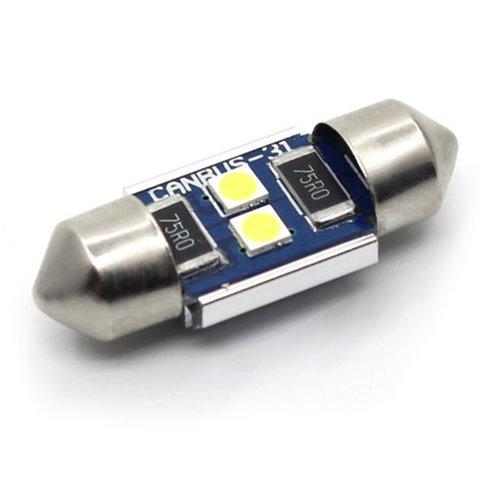 LED лампа для салону автомобіля UP SJ N2 3030 31MM білий, 12 14 В
