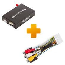 Адаптер дублирования экрана Smartphone iPhone и кабель подключения для мониторов Toyota, Citroen и Peugeot X Touch X Nav - Краткое описание