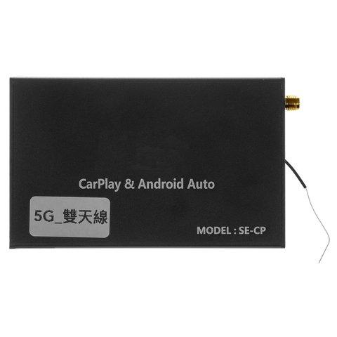 Універсальний безпровідний CarPlay і Android Auto адаптер з виходами AV, RGB, LVDS