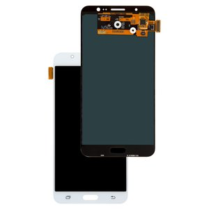 LCD compatible with Samsung J710 Galaxy J7 (2016), (white, with touchscreen, Original (PRC), original glass)