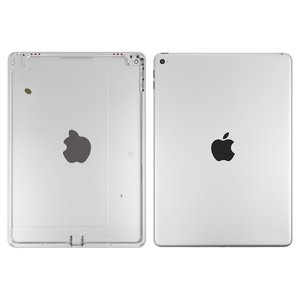 Back Cover for Apple iPad Air 2 Tablet, (silver, (version Wi-Fi))