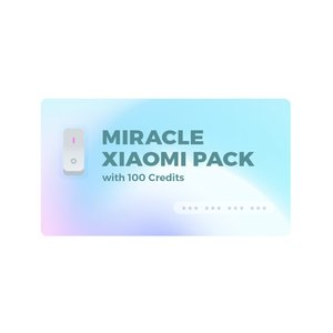 Miracle Xiaomi Tool Pack with 100 Miracle Xiaomi Credits