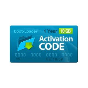 Boot-Loader v2.0 Código de activación (1 año, 10+1 GB)