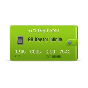 Activación GB-Key Dongle para Infinity-Box/Dongle, BEST Dongle y Infinity CDMA-Tool (con el Pack 1 por 1 año)