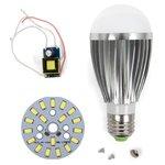 Juego de piezas para armar lámpara LED SQ-Q03 9 W (luz blanca fría, E27)