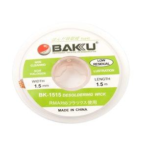 Лента-оплетка BAKU BK 1515 , (Д) 1,5 м, (Ш) 1,5 мм