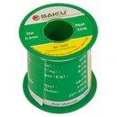 Припой BAKU BK-10003, sn 97%, ag 0,3%, 100 г, 0,3 мм, флюс 2%, cu 0,7%