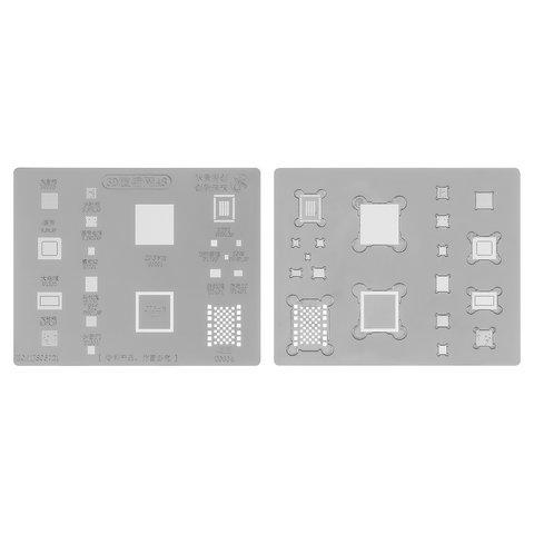 3D BGA трафарет A8 для мобільних телефонів Apple iPhone 6, iPhone 6 Plus