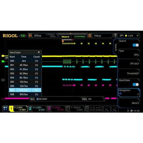 Програмне розширення RIGOL MSO DS7000 AERO для декодування FlexRay
