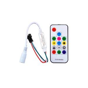 Контролер з радіопультом LED2017-RF (RGB, 2048 пкс, 5-24 В)