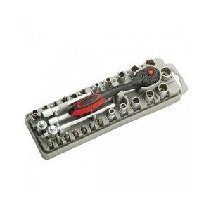 Набір насадок з тріскачкою і довгогубцями Pro'sKit SD-2308M