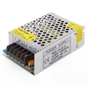 LED Strip Power Supply 12 V, 2 A (25 W), 110-220 V
