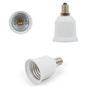 Base Adapter (E12 to E27, white)